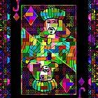 Pixel Jack of Diamonds by RonMock