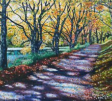 'AUTUMN SIGHS, LEAVES WHISPER' by Jerry Kirk