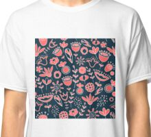 Doodle flower lawn Classic T-Shirt