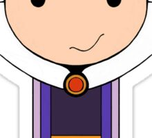 Wicked Queen Kokeshi Doll Sticker