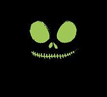 Jack Skellington (green) by Lauramazing
