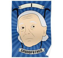 Doctor Who Portraits - First Doctor - Grandfather Poster