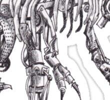 Steampunk T-Rex Sticker