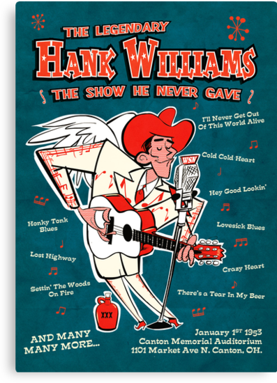 Hank Williams by Daviz Industries