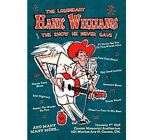 Hank Williams Photographic Print