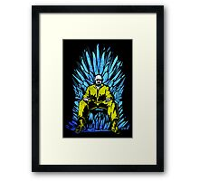 Game of Chemistry Framed Print