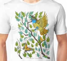 Great Crested Flycatcher Unisex T-Shirt