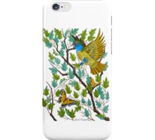 Great Crested Flycatcher iPhone Case/Skin