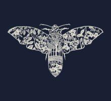 Moth Paper-Cut Kids Clothes