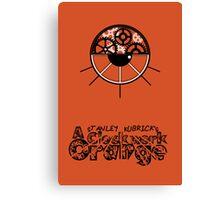 A Clockwork Orange Poster Canvas Print