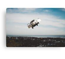 Flying FIAT Canvas Print