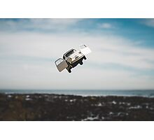 Flying FIAT Photographic Print