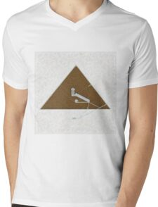 Great Pyramid by Pierre Blanchard Mens V-Neck T-Shirt