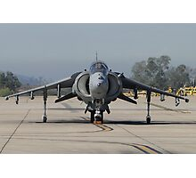 US Marine Corp Harrier II Photographic Print