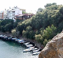 View of the Water Inlet on the Island of Crete in Greece 15 by JaguarJulie