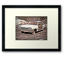 Two Tone Drag Framed Print