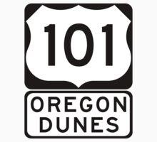 US 101 - Oregon Dunes by IntWanderer
