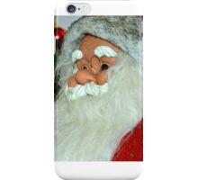 Santa with tree iPhone Case/Skin