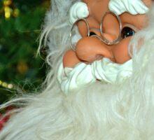 Santa with tree Sticker