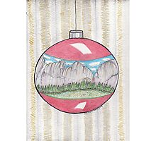 Have A Yosemite Ball For Christmas! Photographic Print