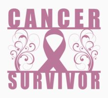 Cancer Survivor (Floral) by thepixelgarden