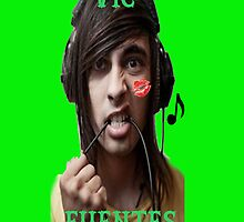Vic Fuentes Phone Case by LaceyDesigns