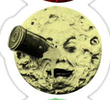 Trip to the Moon Colour Sticker
