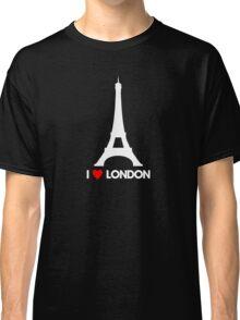 I Heart London Eiffel Tower - Joke T-Shirt  Classic T-Shirt