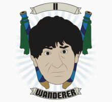 Doctor Who Portraits - Second Doctor - Wanderer One Piece - Long Sleeve
