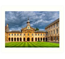 Emma - Cambridge University - England Art Print