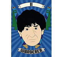 Doctor Who Portraits - Second Doctor - Wanderer Photographic Print