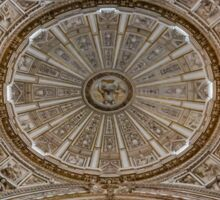 Cathedral Ceiling - Cordoba, Spain Sticker