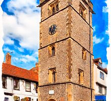 St Albans Clock Tower - England by Mark Tisdale