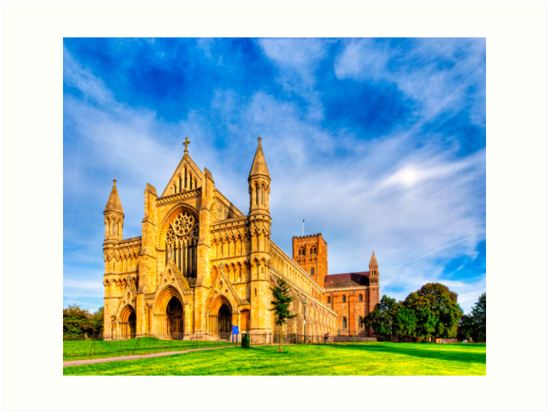 St Albans Abbey - England by Mark Tisdale
