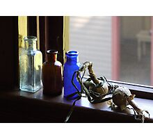 Old Window Sill Photographic Print