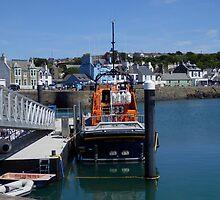 Lifeboat, Portpatrick, Scotland by sarnia2