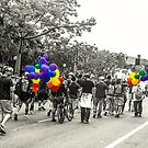 Balloons and Pride by Rebecca Dru
