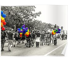 Balloons and Pride Poster