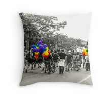 Balloons and Pride Throw Pillow