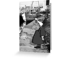 Sea dog Greeting Card