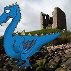 A Glum Dragon by TheKingLobotomy
