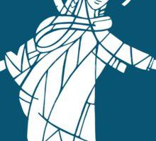 Virgin Mary Illustration Sticker