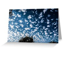 Magnificent Sky and Clouds No 2 Greeting Card