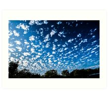Magnificent Sky and Clouds No 3 Art Print