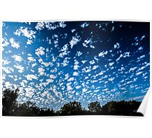 Magnificent Sky and Clouds No 3 Poster