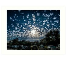 Magnificent Sky and Clouds No 4 Art Print