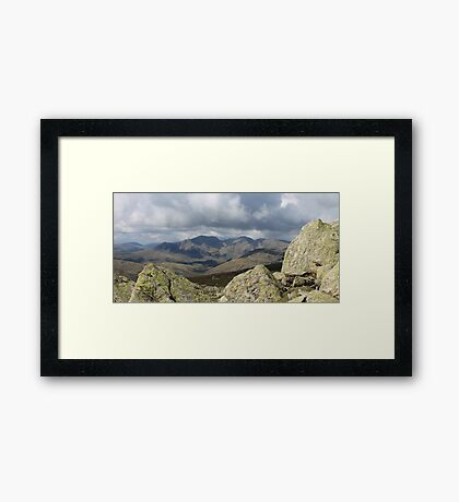 Lake District Landscape Cumbria Framed Print