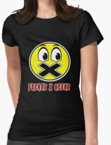 Red and yellow freaks and geeks Womens Fitted T-Shirt