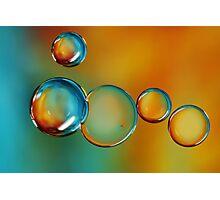 Bubble Drops Photographic Print