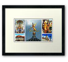 Dresden ~ City of Golden Splendour Framed Print